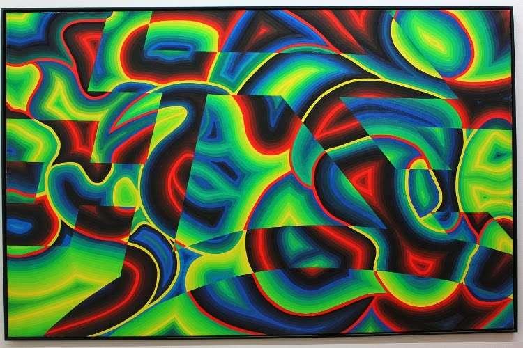 """""""Sin título"""" de André Cadere (Centro Georges Pompidou)"""