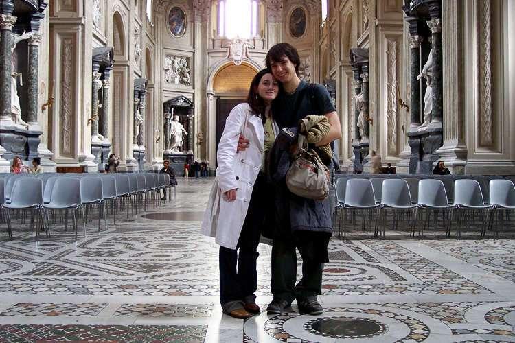 Mosaicos en el suelo de San Giovanni in Laterano
