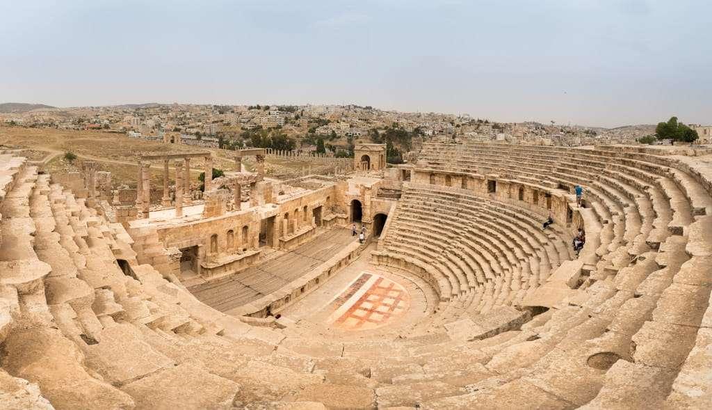 Teatro Norte de Jerash