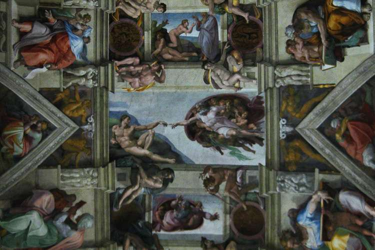 Capilla Sixtina en los Museos Vaticanos