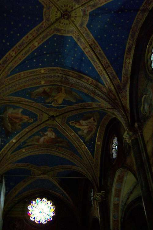 Interior de Santa Maria sopra Minerva