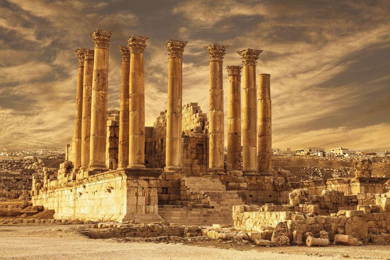 Templo de Artemisa en Jerash