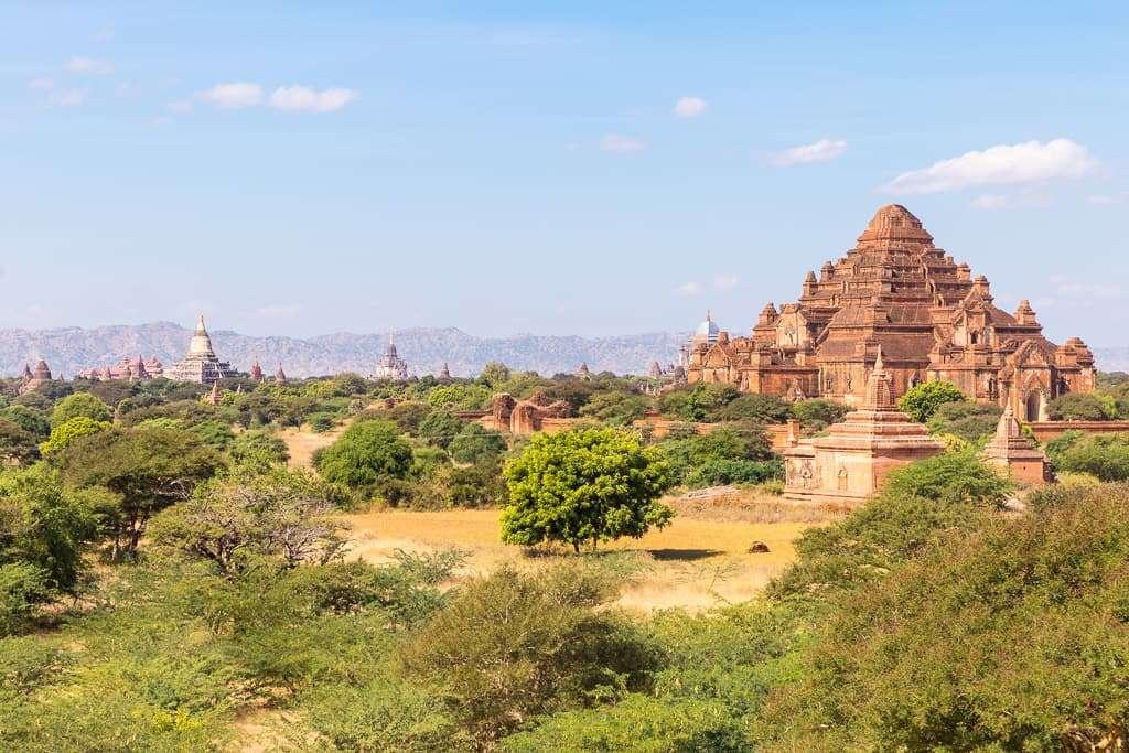 Templo Dhammayangyi en Bagan, Myanmar