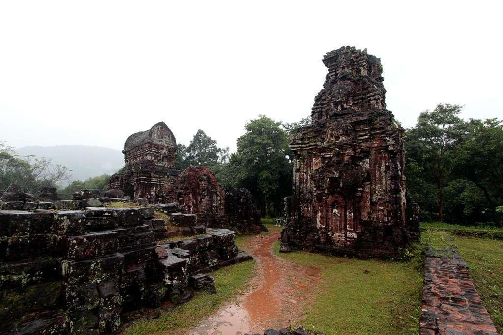 Templos de My Son, ecrca de Hoi An, Vietnam