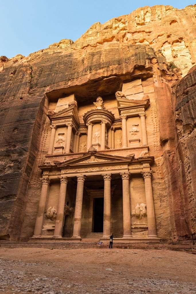 El Tesoro de Petra sin gente, Jordania