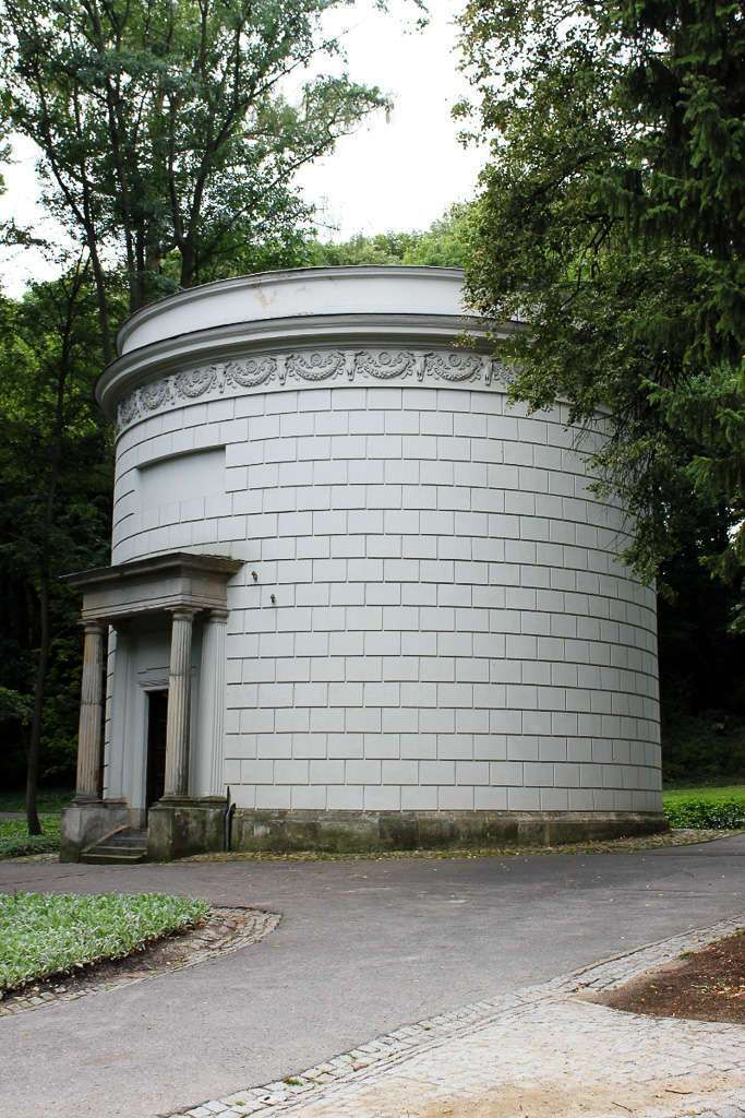 La torre de agua del Parque Łazienki