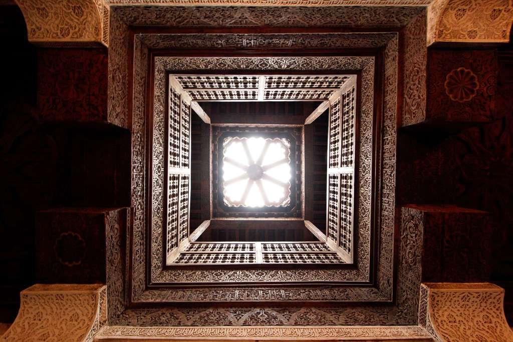 Tragaluz de la Madrasa Ali Ben Youssef