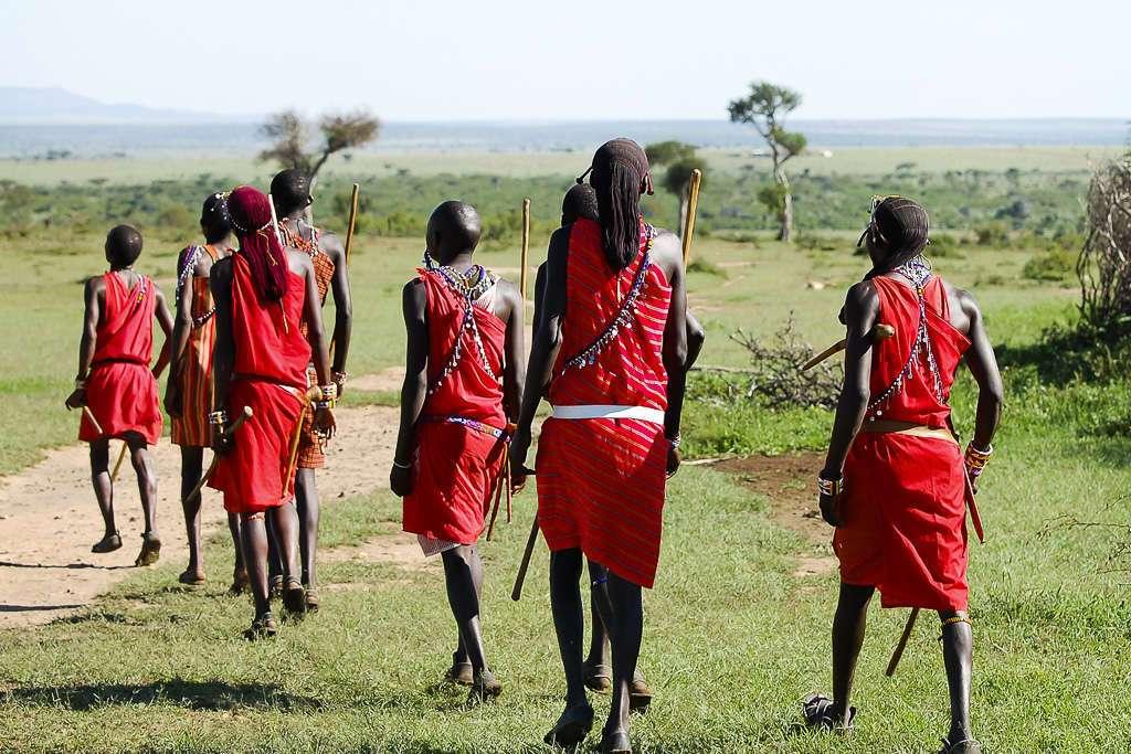 Tribu Masai, Kenia