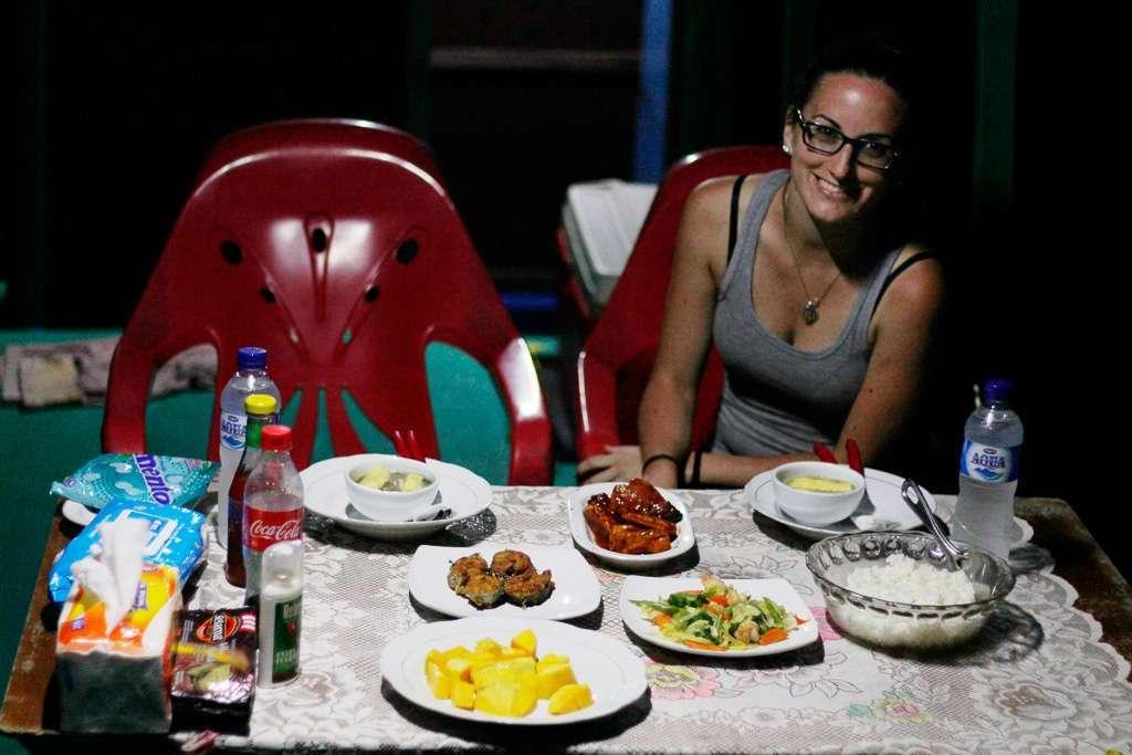 La última cena en Borneo