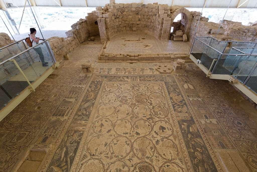 Escenas de caza y pesca en los mosaicos de Umm ar-Rasas, Jordania