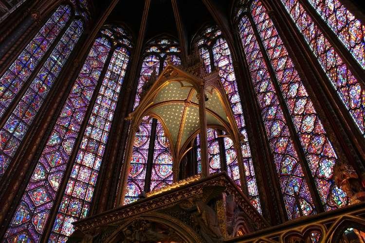 Vidrieras de la Sainte Chapelle