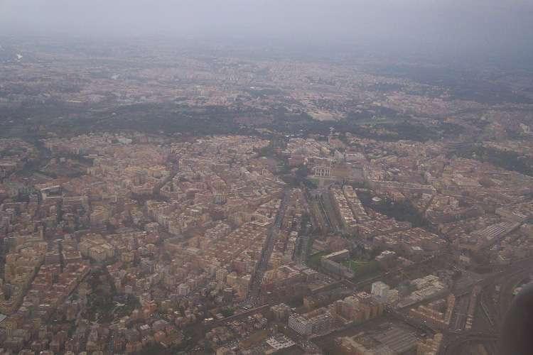 Vista aérea de Roma II
