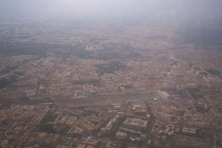Vista aérea de Roma I