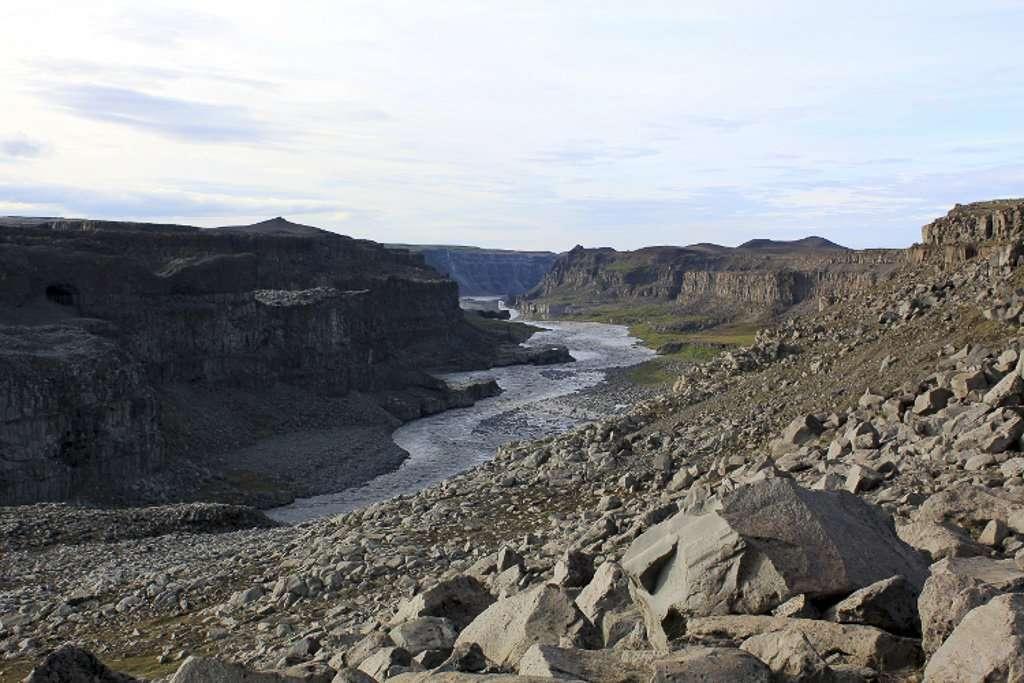 Cañón del río Jökulsá á Fjöllum