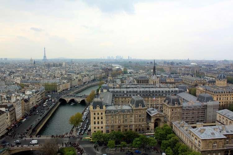 Vista desde las torres de Notre Dame