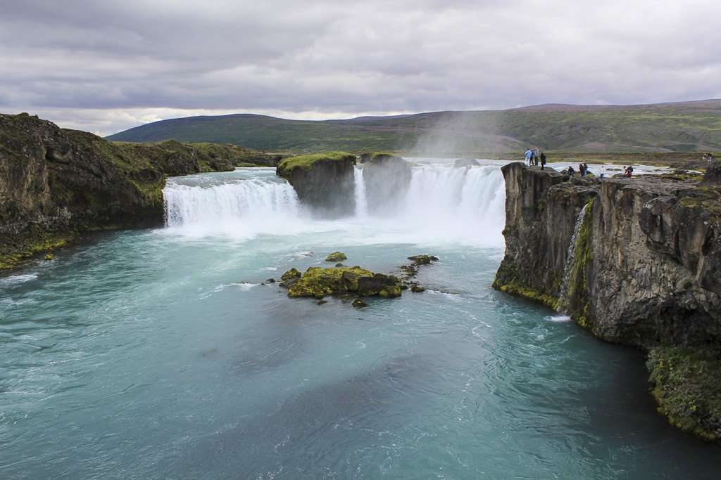 Vista general de Godafoss