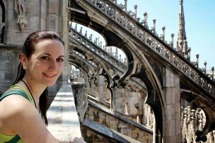 Vistas desde las terrazas del Duomo de Milán