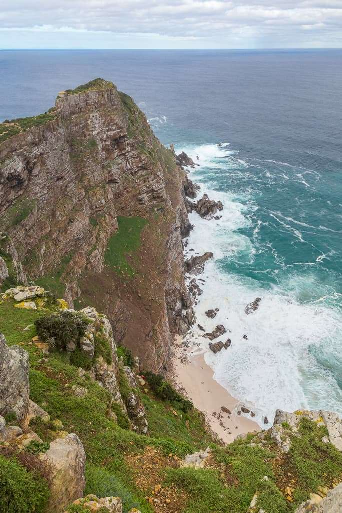 Acantilado de Cape Point, Península del Cabo, Sudáfrica