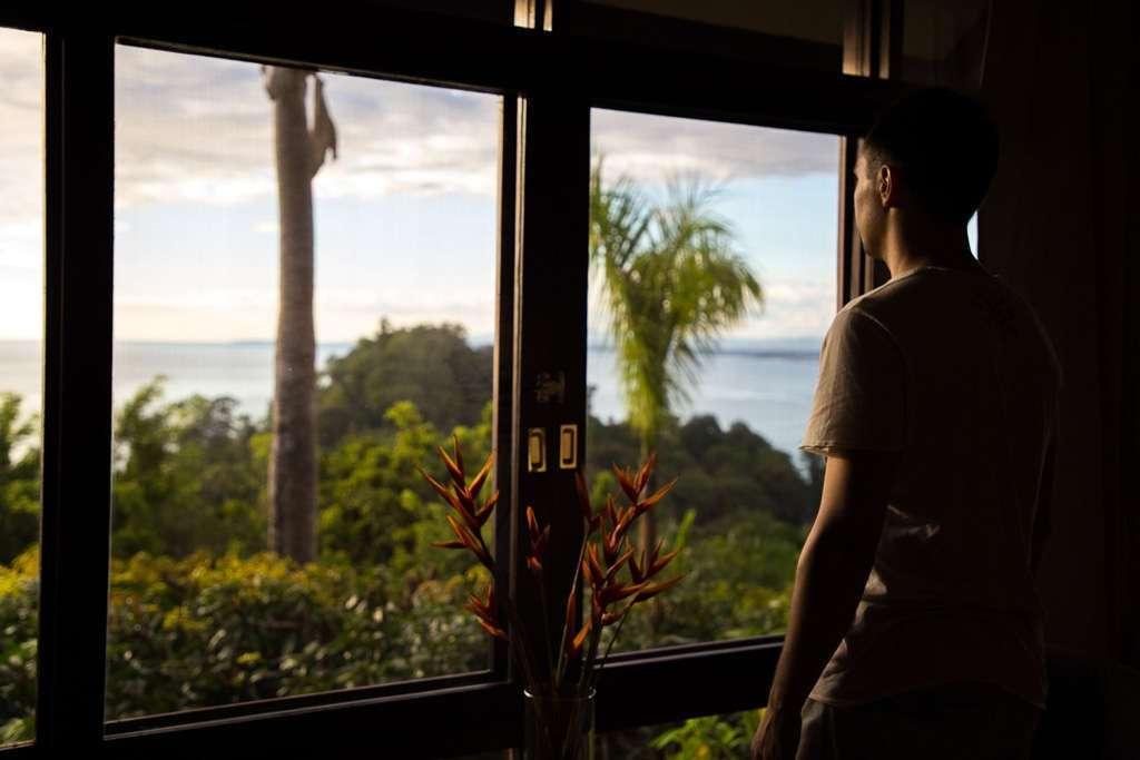 Vistas desde un bungalow de Tulemar
