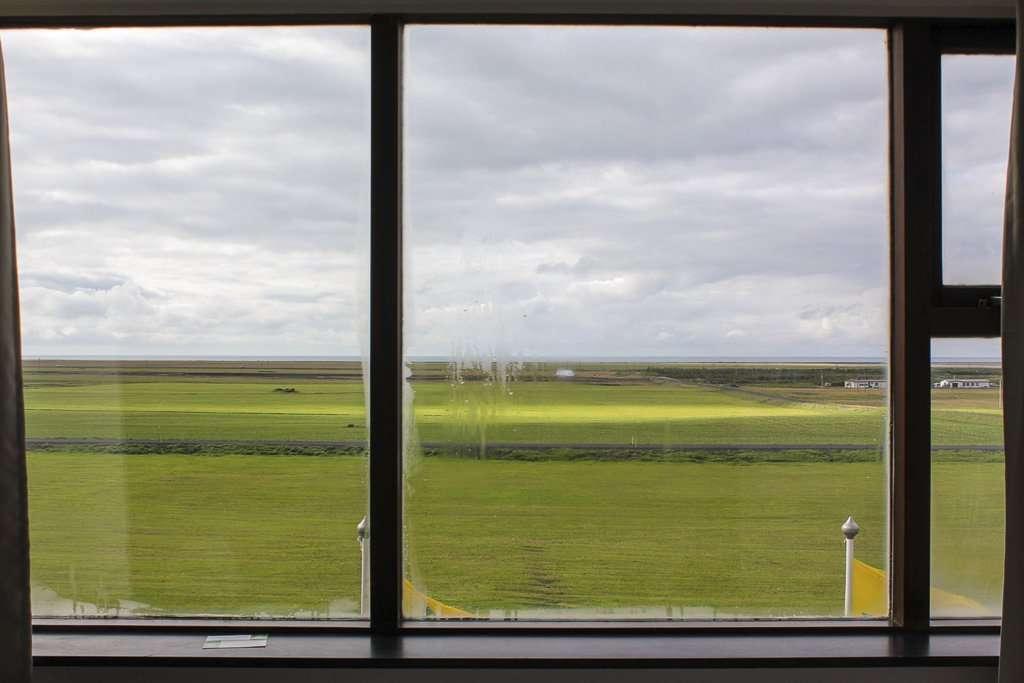 Vistas desde la habitación del Hotel Edda Skogar