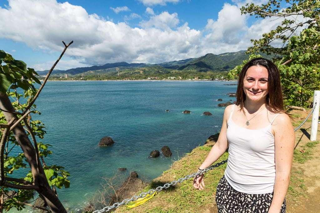 Vistas desde el mirador de Jacó, Costa Rica