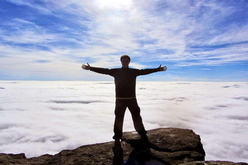 En lo alto del Monto Torozo