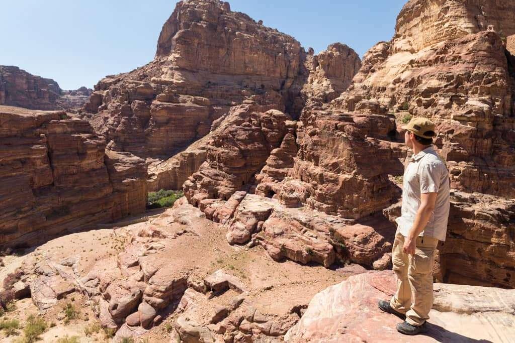 Vistas en la ruta Umm al-Biyara