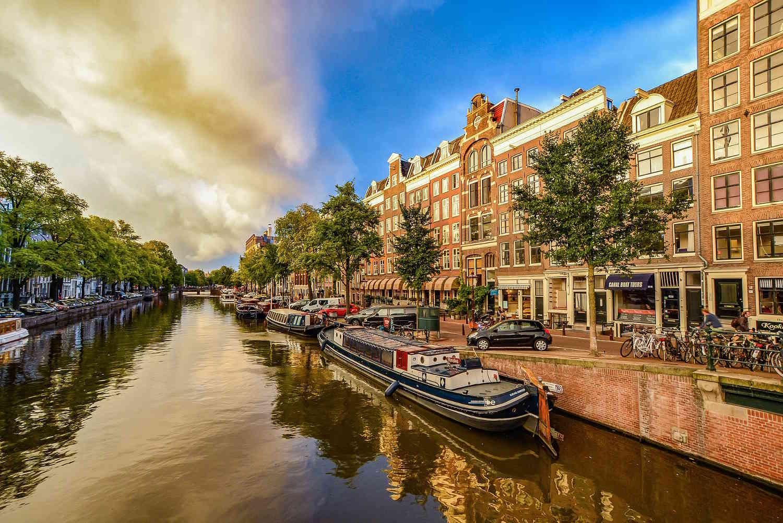 Panorámica de Amsterdam