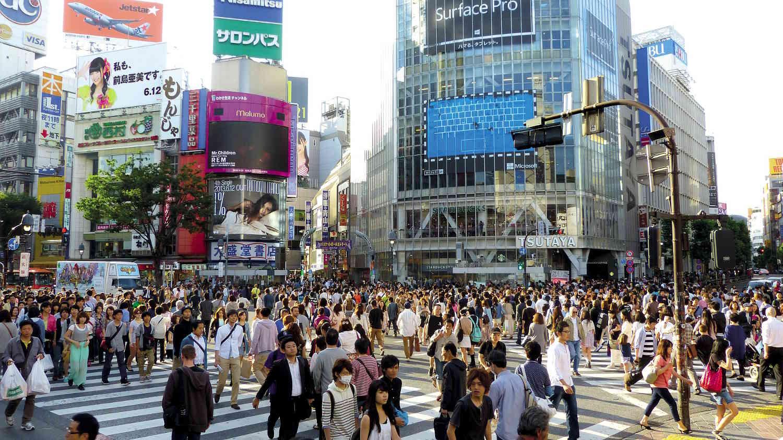 Cruce de Shibuya en Tokio, Japón