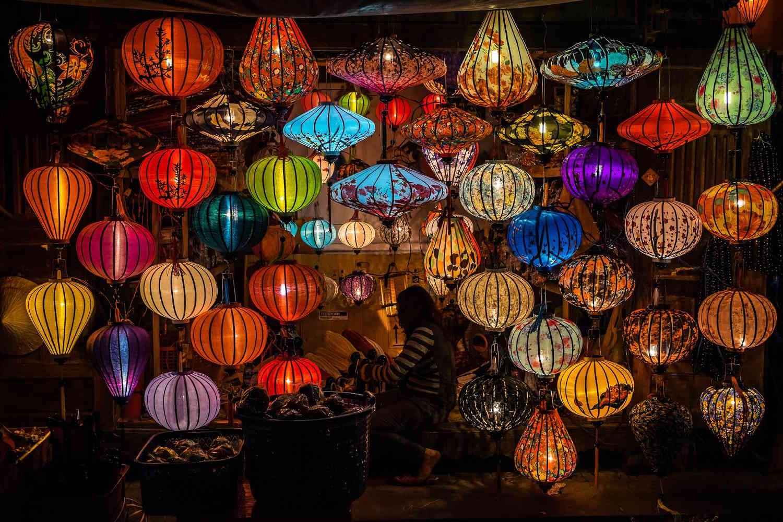 Farolillos de Hoi An, Vietnam