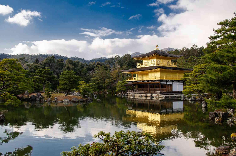 Templo Kinkaku-Ji Kioto, Japón