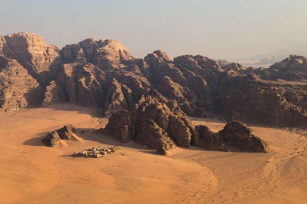 Montañas de Wadi Rum, Jordania