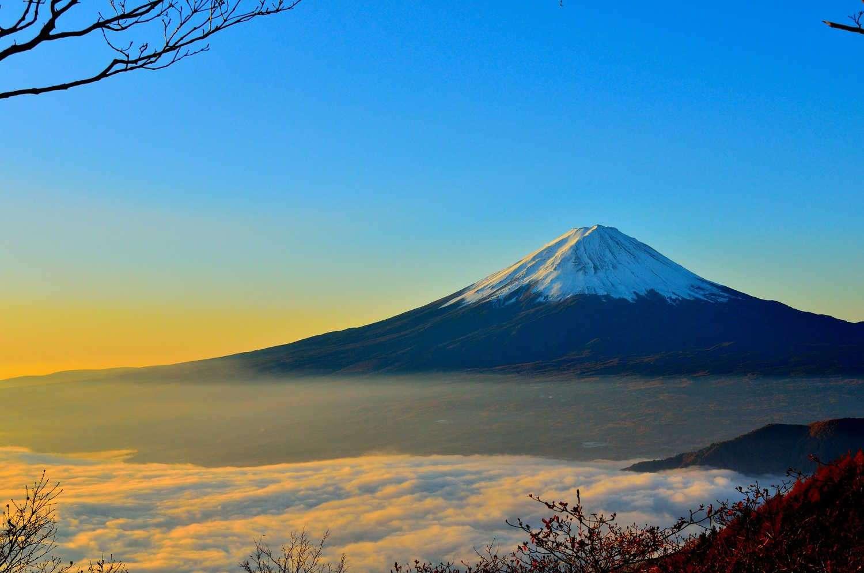 Monte Fuji, Japón