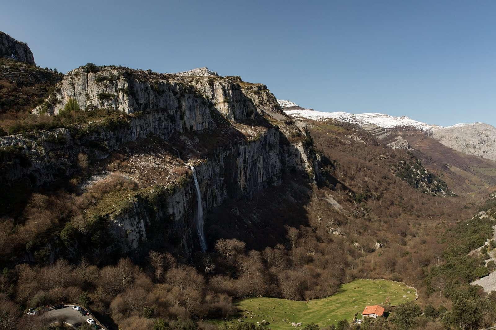 Nacimiento río Asón, Cantabria