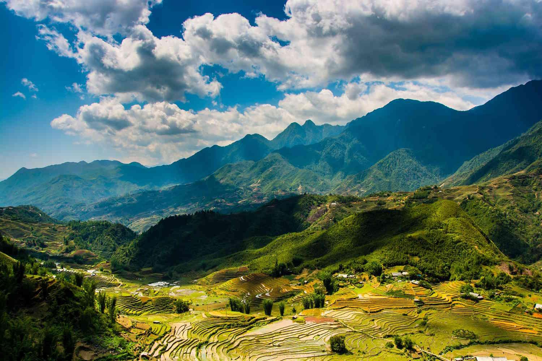 Panorámica de Sapa, Vietnam