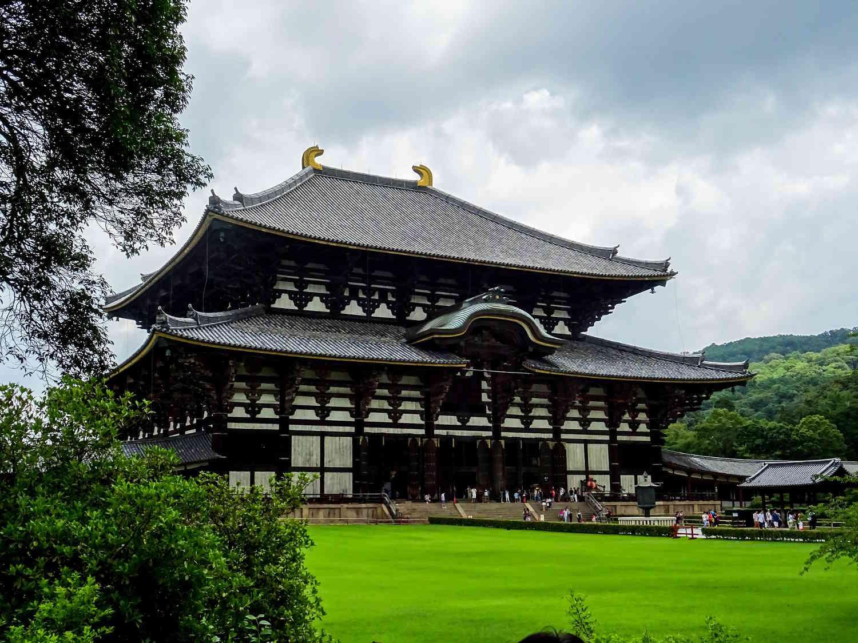 Templo Todai-Ji en Nara, Japón