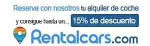 Rentalcars - Reserva con nosotros y consigue hasta un 15% de descuento en tu alquiler de coche en rentalcars.com