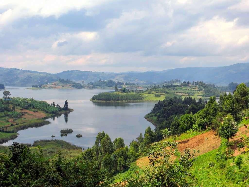 Lago Bunyonyi en Uganda