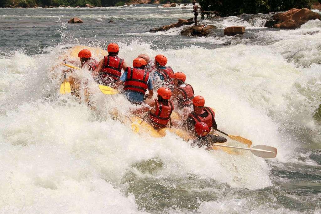 Rafting en el Nilo Blanco, Uganda