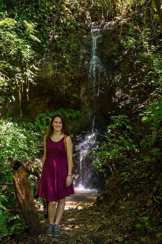 Cascada en Tulemar, Manuel Antonio, Costa Rica