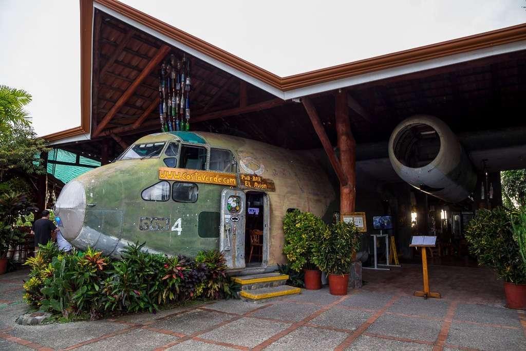 Exterior restaurante El Avión, Parque Nacional Manuel Antonio (Quepos), Costa Rica