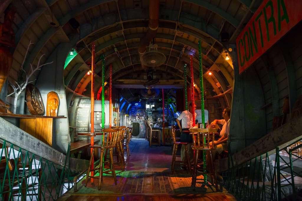 Interior restaurante El Avión, Parque Nacional Manuel Antonio (Quepos), Costa Rica