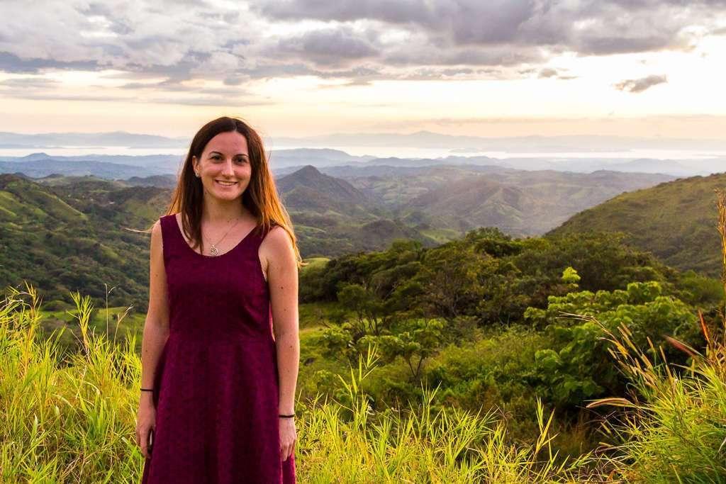 Atardecer de camino a Monteverde, Costa Rica