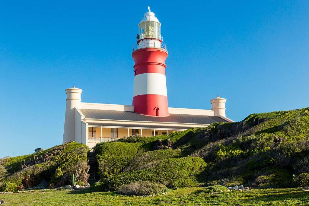 Faro del Cabo de Agujas, Sudáfrica