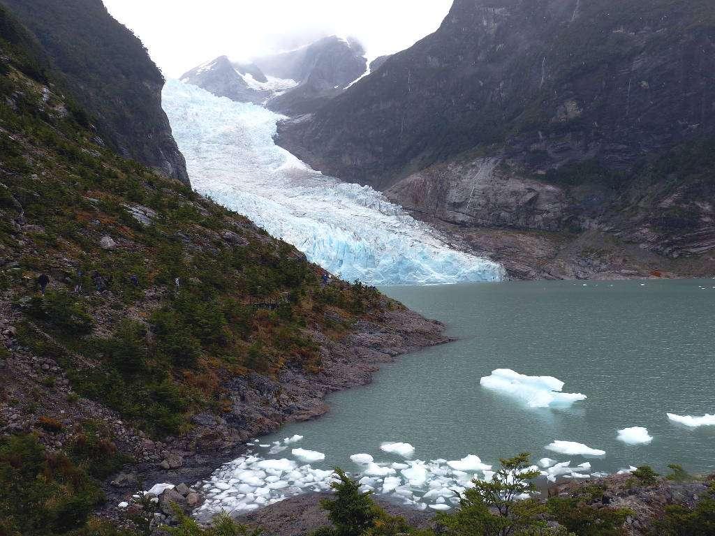 Glaciar Serrano, Patagonia chilena, Chile
