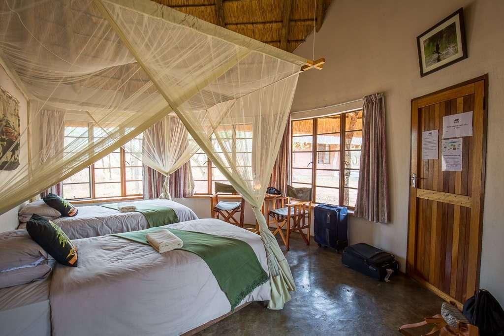 Habitación en el Campamento Ndlovu, Hlane, Suazilandia (Esuatini)