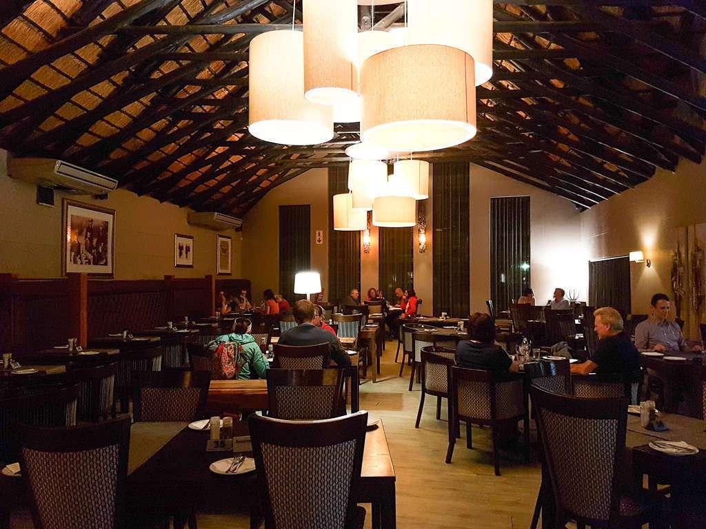 Restaurante del campamento Skukuza, Kruger, Sudáfrica