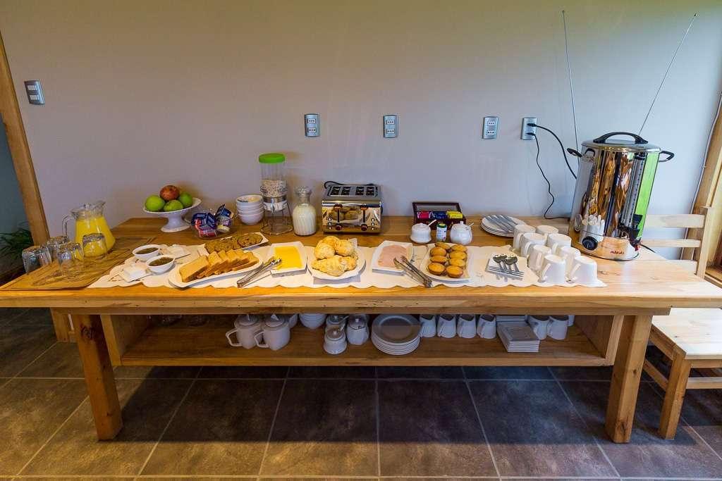 Desayuno en el hostal el Puestero, Puerto Natales