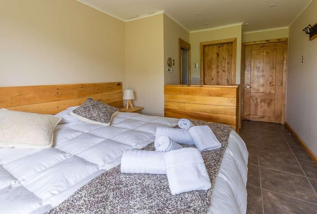 Habitación doble del hostal el Puestero, Puerto Natales