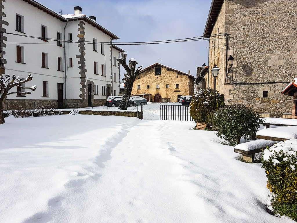 Aldatz nevado, Navarra